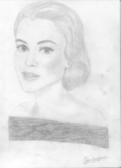 Grace Kelly by clairebear11